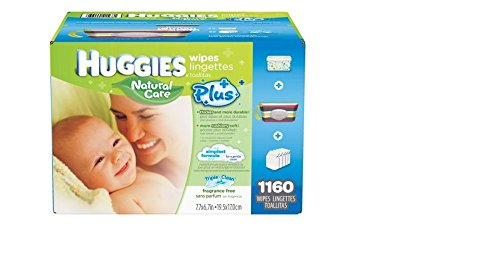 Baby Wipes MEGA PACK Brand New by HUGGIES NATURAL CARE 1160 Total Individual WIPES Special Assortment includes a Stripped Clutch Travel Case with Handle and Flip Top Lid and a Blue White & Green Decorated Plastic Case with Flip Open Lid that holds over 20