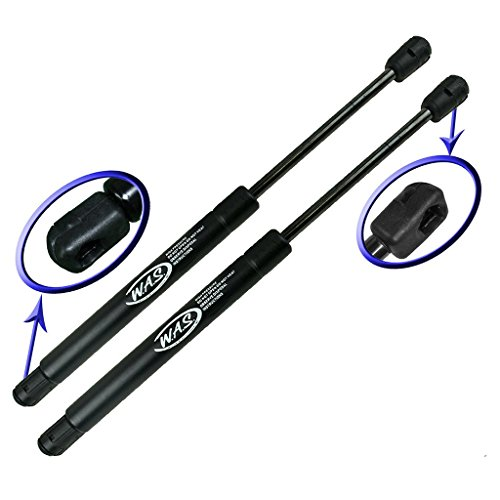 Two Rear Trunk Lid Gas Charged Lift Supports for 2005-2011 Cadillac STS. Left and Right Side. WGS-576-2 ()