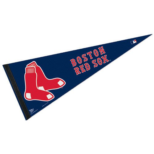 Boston Red Sox Pennant - WinCraft MLB Boston Red Sox WCR48252012 Carded Classic Pennant, 12