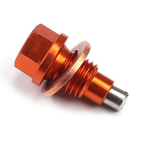 Billet Magnetic Oil Drain Plug Bolt (M12 x 1.5 x 20) fit 125-530 SX SX-F EXC EXC-F EXC-R XC XC-W XC-F Off Road Motocross Billet Oil Plug