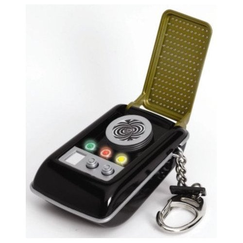 Star Trek Communicator Talking Keychain (Star Trek Communicator Keychain)