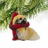 Pekingese Miniature Dog Ornament