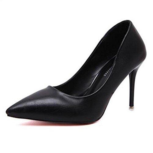 L@YC Frauen Schuhe Spitz High Heels Schuhe Hochzeit Schwarz / B¨¹ro & Beruf / Party und Party / Kleidung / Freizeit Black