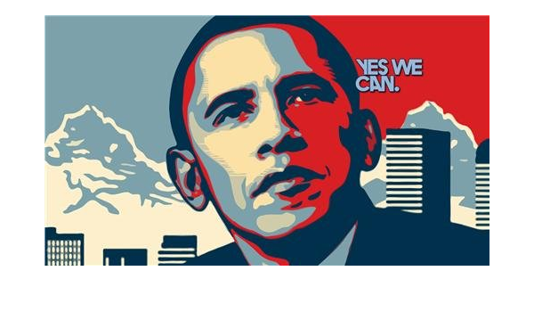 Amazon Com Barack Obama Yes We Can Glossy Poster Picture Photo President Election Usa Prints Posters Prints