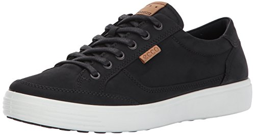 ECCO Men's Soft 7 Fashion Sneaker,Black,39 EU/5-5.5 US
