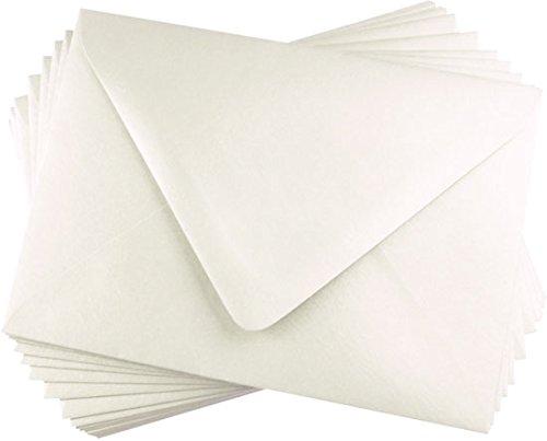Stardream Opal Envelope (A2 Opal Metallic Euro Flap Envelopes, Stardream 81lb, 25 pack)
