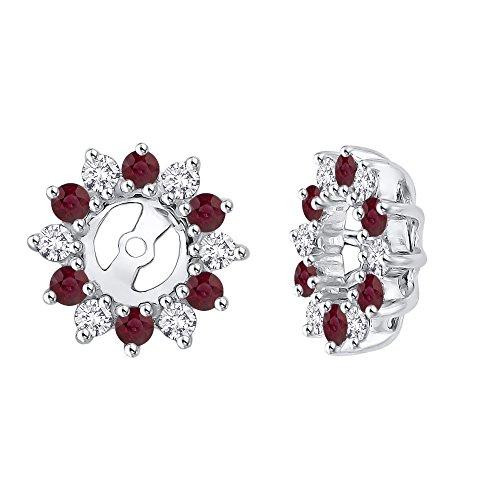 Alternating Diamond with Ruby
