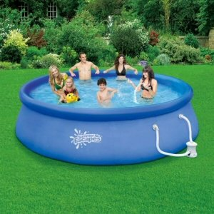 Summer Escapes 10-Feet-by-30-Inch Quick Set Ring Pool by Summer Escapes