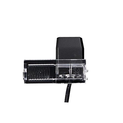 navinio lampe voiture hd ccd cam ra de recul dans plaque d 39 immatriculation grand angle 170. Black Bedroom Furniture Sets. Home Design Ideas