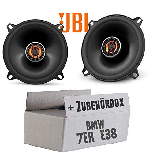BMW 7er E38 - Lautsprecher Boxen JBL Club 5020 | 2-Wege | 13cm Koax Auto Einbausatz - Einbauset JUST SOUND best choice for caraudio