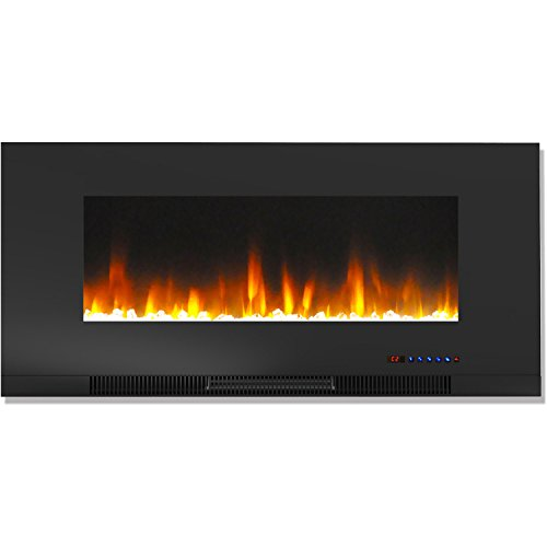 Cheap Hanover Wall-Mount Electric Fireplace 42