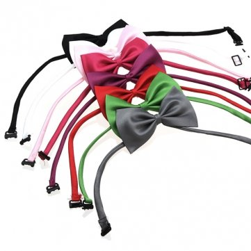 Raffreddare Cotone Colore Accessory gatto del cane di Papillon Cravatta