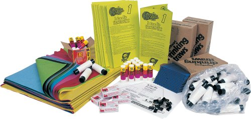 Kite Construction Kit - Pitsco Tissue Paper KaZoon 4-Cell Tetrahedron Kite Kit (For 30 Students)
