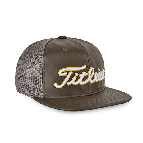 Titleist Cap Hat - TITLEIST Hat&Cap (Stylish Mesh Snapback, Olive, FREE (Korea, Japan limited edition))