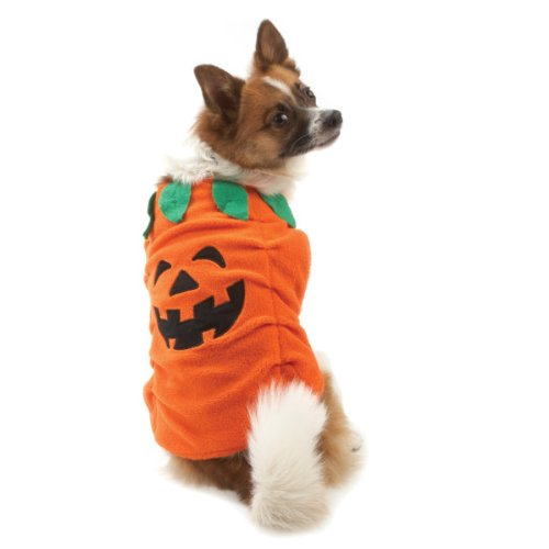 M Pumpkin Dress up Dog Pet Costume (Medium)