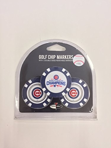 - Chicago Cubs 2016 World Series Champions Golf Poker Chips Limited Edition