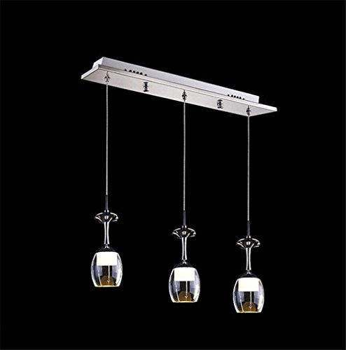 Pendant Lights 85-265v Modern Minimalist Vintage Wine Bottle Pendant Lights Cafe Room/Bar Lamp Single Glass Pendant Lamps Decoration Indoor Lighting , 2 - 58' Pendant