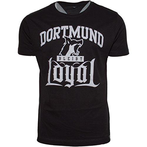 Kontra K Dortmund bleibt Loyal T-SHIRT Schwarz