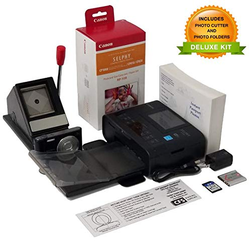 Passport Photo Printer System - Preconfigured for US Passports-Includes US Passport Cutter by CFS