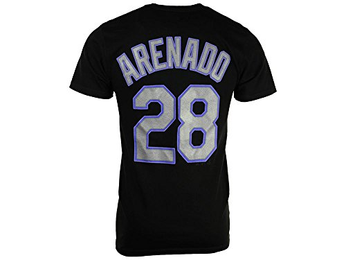 - Majestic Nolan Arenado Colorado Rockies #28 Men's Player T-Shirt (XX-Large)