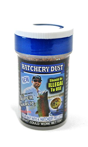 Lip Ripperz Super Garlic Hatchery Dust, 3-Ounce, Black