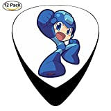 GGG-TAR The Mega Man Logo Guitar Picks / Celluloid,12 Pack