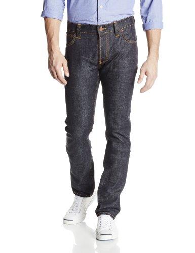 (Nudie Jeans Men's Thin Finn Jean in Dry Twill, Dry Twill, 31x34)