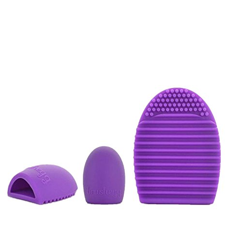 Catty Kelly Silica gel Cleaning Glove MakeUp Washing Brush Scrubber Cosmetic Clean (Purple) (College Girl Halloween Pics)