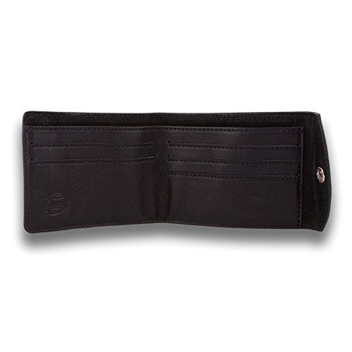 115010119 Leather Orchill Wallet Bi Men's Men's Black Fold 115010119 Orchill Bi 6xwTZHA