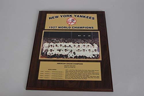 - 1927 New York Yankees World Champions Team Photo Display Plaque