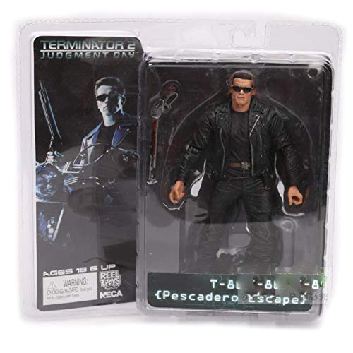 (PLAYER-C The Terminator 2 Action Figure T-800 / T-1000 PVC Action Figure Toy Model Toy 7 Types 18Cm)