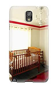 Marilyn Melendez Davis's Shop Defender Case With Nice Appearance (red And White Baby Nursery) For Galaxy Note 3 7087974K28327927