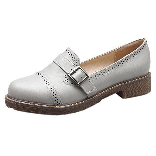 Mujer Zanpa Zapatos Zapatos Zanpa Para Gray 6TFCUq