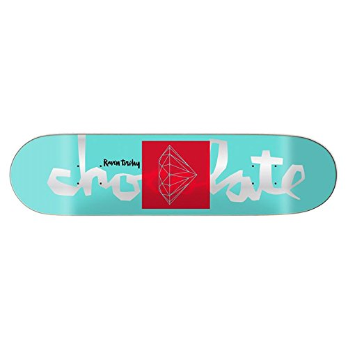 アイロニー罹患率厚さチョコレート (CHOCOLATE) SUPPLY CO. R.ターシェイ TIFFANY 8.0 スケートボード デッキ スケボー