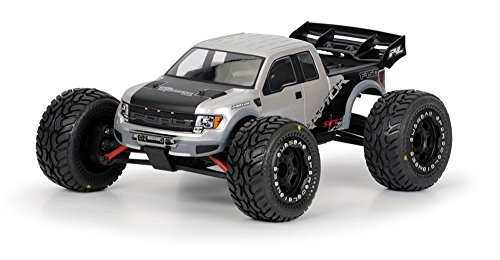 Pro-Line Racing 336000 Ford F-150 SVT Raptor Clear Body for 1:16 Revo
