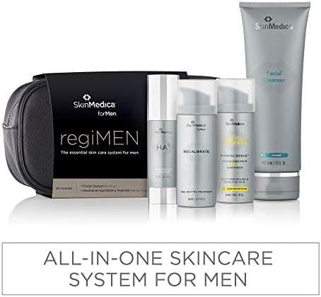 SkinMedica regiMEN The Essential Skin Care System for Men, 4 Count