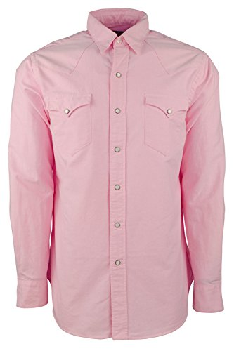 Polo Ralph Lauren Men's Oxford Western Shirt X-Large New Rose