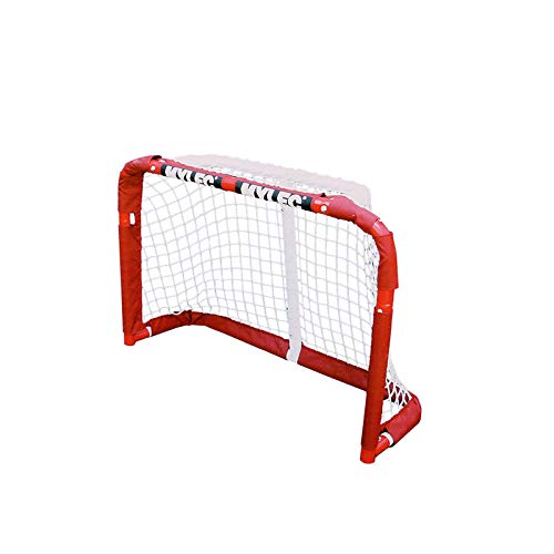 Mylec Pro Style Mini Steel Hockey Goal, Red ()