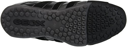 A black Basses anthracite C9270 Geox Snake Baskets Uomo Homme Gris EwxZOPq