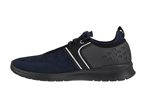 Boss Athleisure Baas Groene Extreme Runn Herren Sneaker Blau Blau