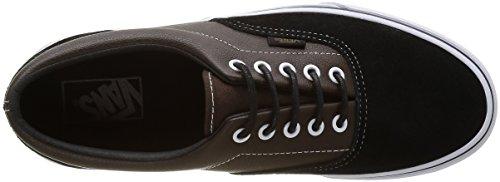 Bestelwagen Heren Vintage Camo Era Sneaker Suede Leer / Demitasse-zwart