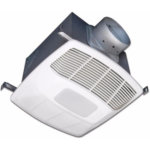 Air King EF130DH Energy Star HVI Certified 130 CFM 3.0 Sone Humidity Sensing Exh, White by Air King