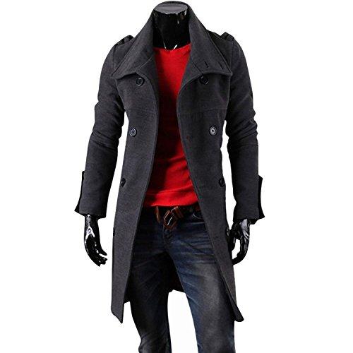 Stylish Double Breasted Trench Jacket