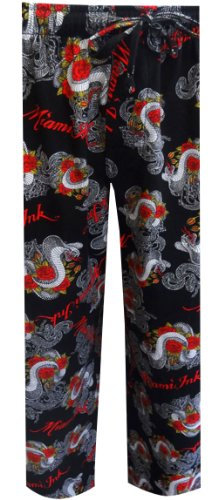 miami-ink-cobra-tattoo-with-roses-lounge-pant-for-men-small