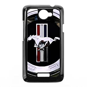 HTC One X Cell Phone Case Black Mustang WQ7502817