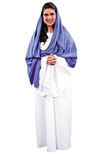 Virgin Mary Costume Theater Production Costume Christmas Religious Costumes Sizes: One Size
