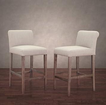 Amazon.com: Cosmopolitan Contemporary Beige Linen and ...