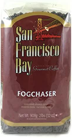 San Franscisco Bay Coffee, Fog Chaser- Whole Bean, 2-Pound (32 oz.)