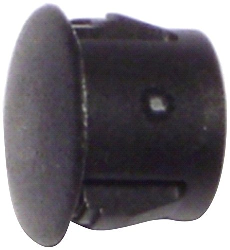 Hard-to-Find Fastener 014973169831 Black Hole Plugs, 7/16-Inch