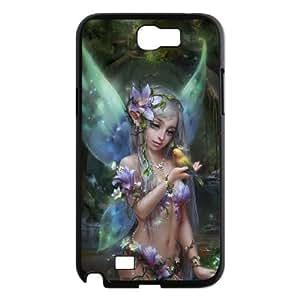 DIY Fairy Case for SamSung Galaxy note2 n7100, Custom Fairy Note2 Phone Case, Fairy n7100 Case Cover